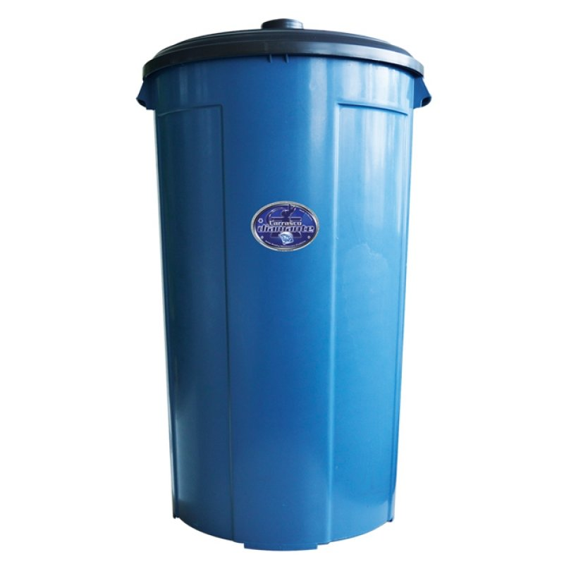 Jumbo 100 Container with Lid Blue Diamond