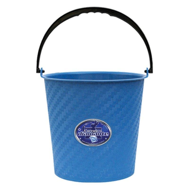 Cubeta de plástico cilíndrica de 9.5 litros