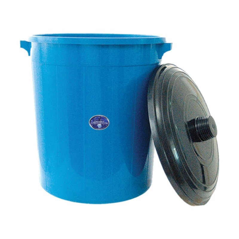 Rainbow 80 Container with Lid Blue Diamond