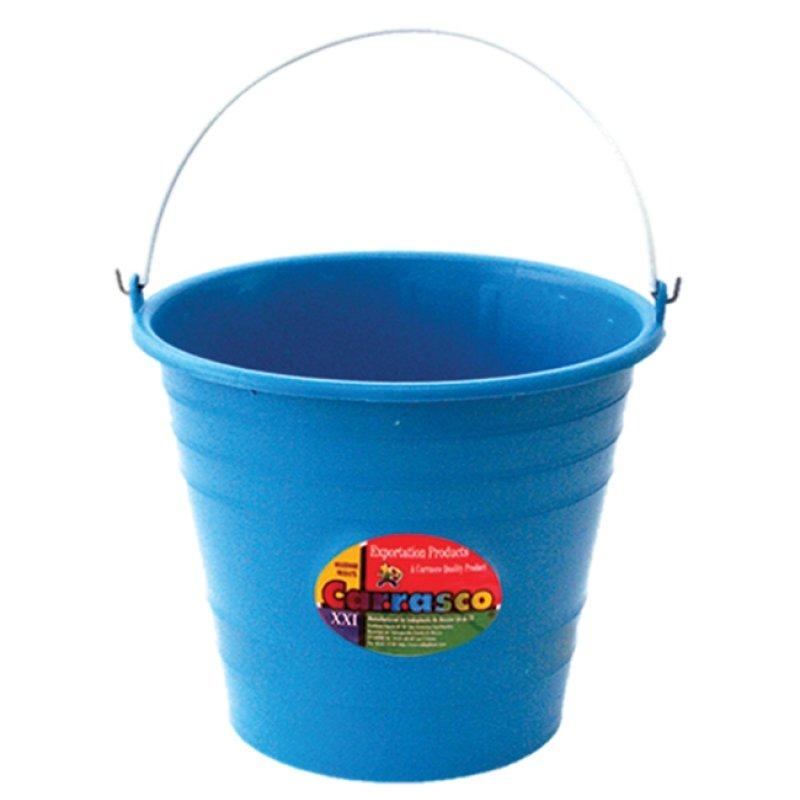 Cubeta de plástico cónica ecológica de 9 litros