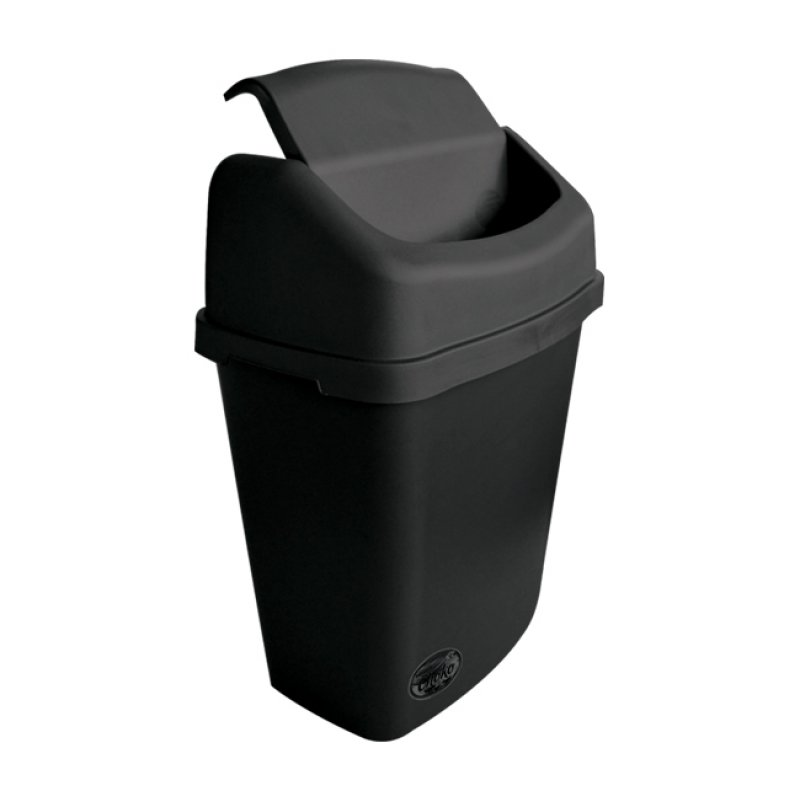 Medium Stationary Bin  with Swing Lid