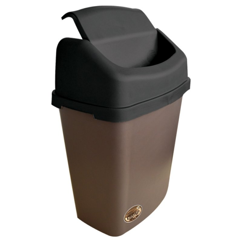 Large Stationary Bin  with Swing Lid