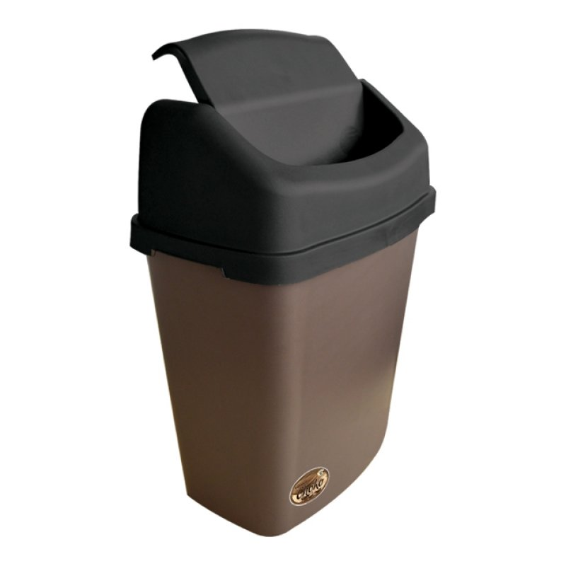 Small Stationary Bin  with Swing Lid
